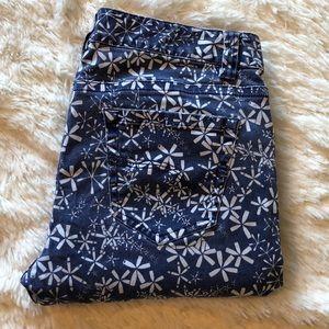Vineyard Vines  |  Blue Printed Ankle Jeans